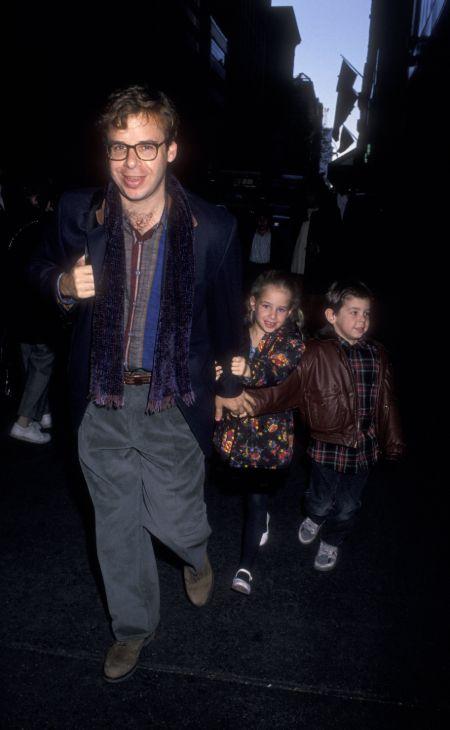 Rick Moranis and his childern