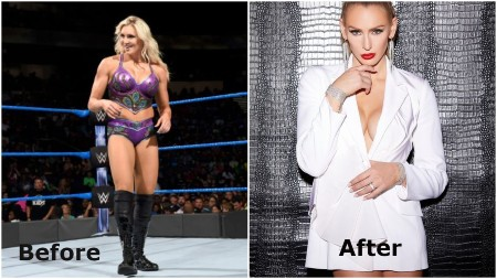 Charlotte Flair before and after weight loss