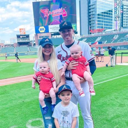 Freddie Freeman Wife and Children
