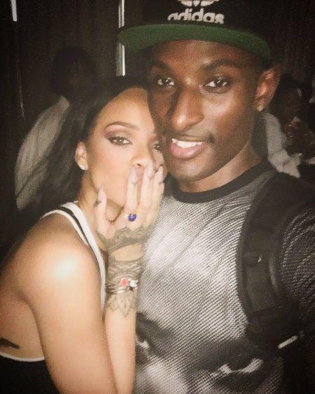 Rihanna and Dashaun Wesley