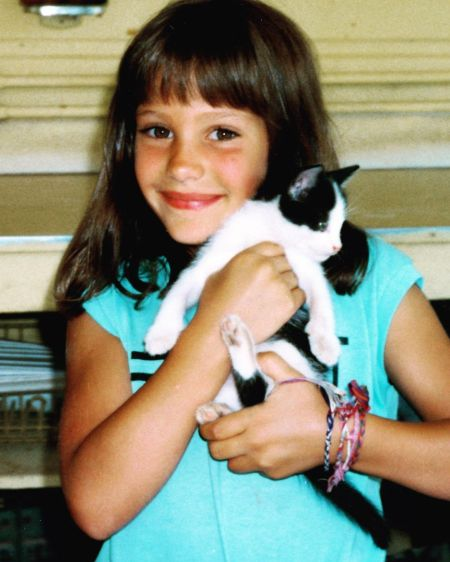 'Outnumbered' host, Emily Compagno at her young age