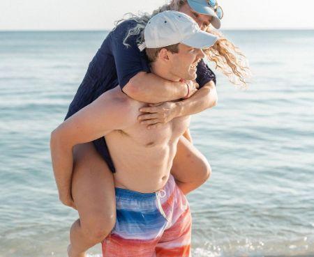 Maggie Malone with her boyfriend, Sam Hardin