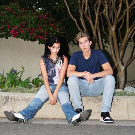 Sophie Fergi is dating Sawyer Sharbino