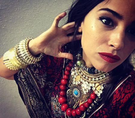 Actress Moran Rosenblatt in jewelry