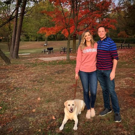 Katie Pavlich's dog and husband