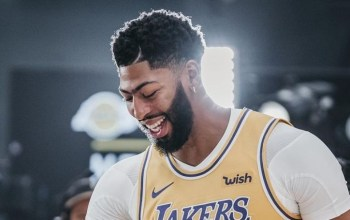 Lakers' Player Anthony Davis Teeth Fix - Before and After Transformation