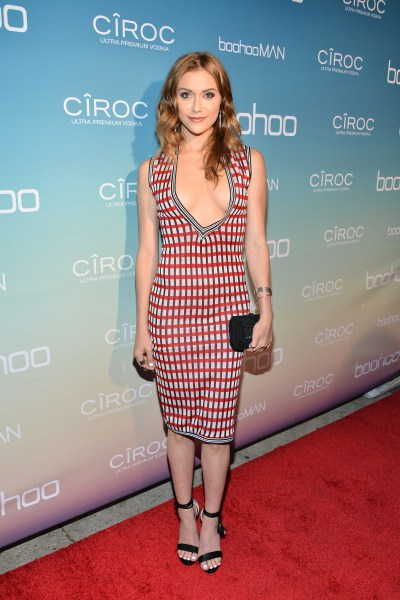 """LOS ANGELES, CALIFORNIA - APRIL 01: Alyson Stoner attends the boohoo.com Flagship LA Pop Up Store with opening party fueled by CIROC Ultra-Premium Vodka on April 1, 2016 in Los Angeles, California. (Photo by Araya Diaz/Getty Images for Paul Wilmot )"""