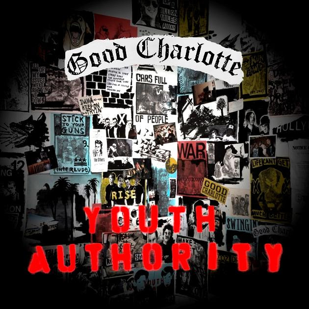 """Album cover art for """"Youth Authority"""" out July 15th."""