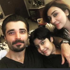 Hamza Abbasi & Ayesha Khan