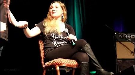 Rachel Miner onstage in Las Vegas, 2017.