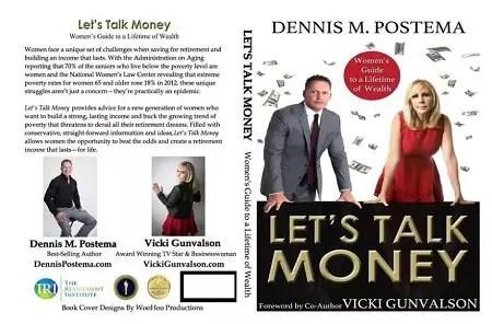 Vicki Gunvalson's best-seller book, 'Let's Talk Money'.