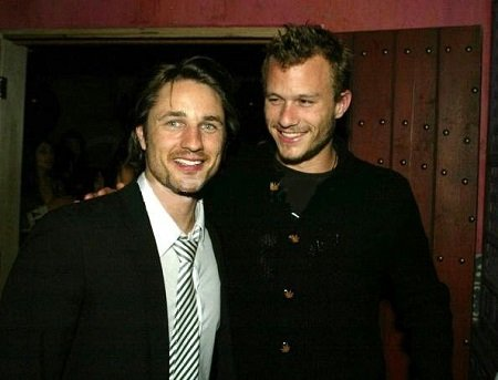 Martin Henderson and Heath Ledger were great friends when starting out in Australia.