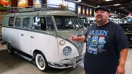 Gabriel Iglesias presents the Quinceañera, 15-window 1963 VW bus.