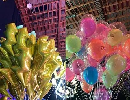StormiWorld customized balloons.