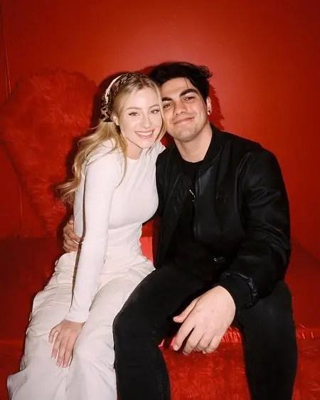 Daisy Keech and Thomas Petrou