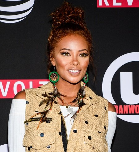 Actress Eva Marcille attends the 21st Annual Urbanworld Film Festival at AMC Empire 25 theater on September 23, 2017 in New York City.