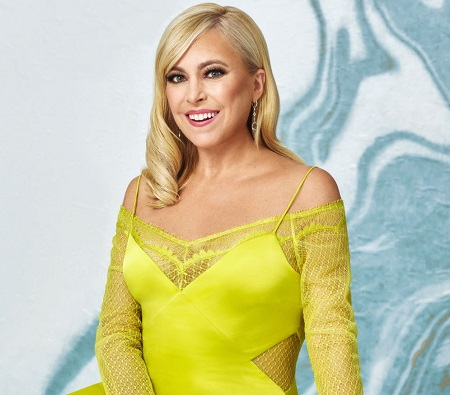 """New """"friend"""" Sutton Stracke posing for her profile for Bravo TV's 'The Real Housewives of Beverly Hills'."""