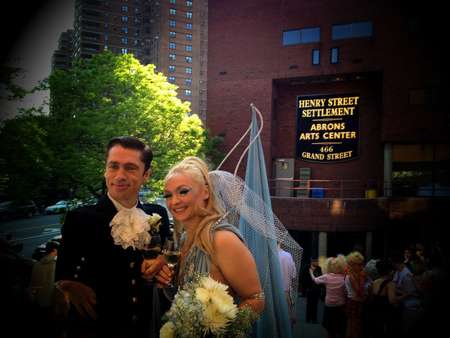 Mat Fraser and Julie Atlas Muz get married in a family ceremony