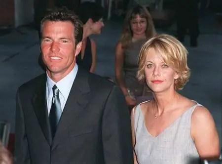 Dennis Quaid and Meg Ryan were married in 1992.