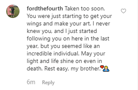 Fans are pouring in on Instagram to pay tribute to TobyMac's son Truett McKeehan.