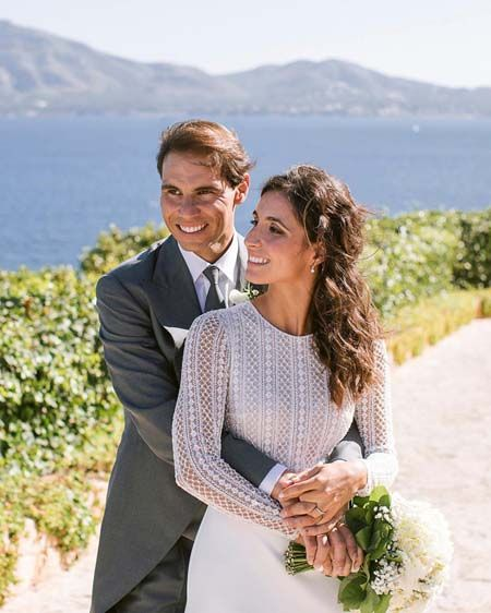 Rafael Nadal and Maria Francisca 'Xisca' Perello got married in the Spanish Island of Majorca in the presence of 300 guests.