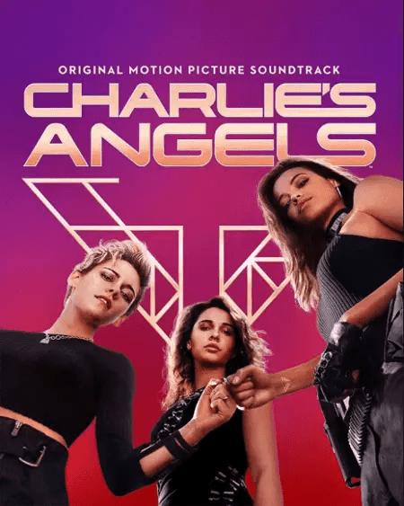 The poster of Charlie's Angels featuring Kristen Stewart, Naomi Scott and Ella Balinska.
