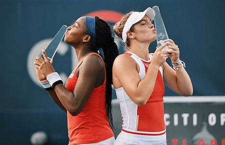 Caty McNally and Coco Gauff win their first WTA title.