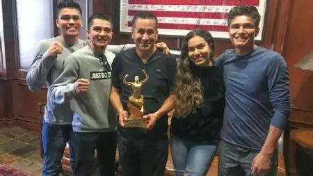 The Gonzalez Family - Joet Gonzalez, Jose Gonzalez, and Jajaira Gonzalez.