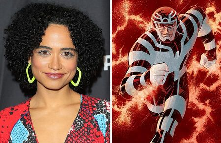 The Walking Dead Connie Actress Lauren Ridloff will play the role of Makkari in Marvel's 'The Eternals.'
