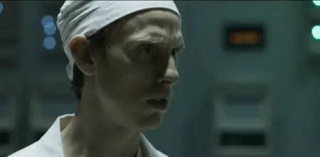 Robert Emms as Leonid Toptunov in Chernobyl.