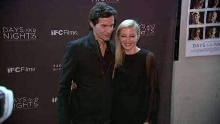 Christian Camargo and Juliet Rylance at the New York Premiere of 'Days and Nights'.