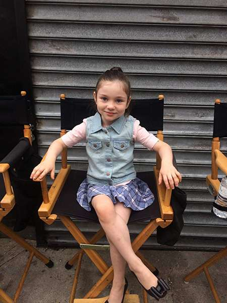 Alexa played young Claire in Flesh and Bone.