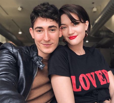 Isa Briones and Blaine Miller met while working in theater.