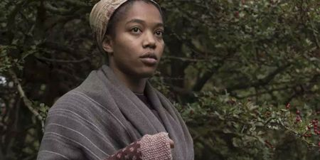Naomi Ackie is played Anna in the movie Lady Macbeth.