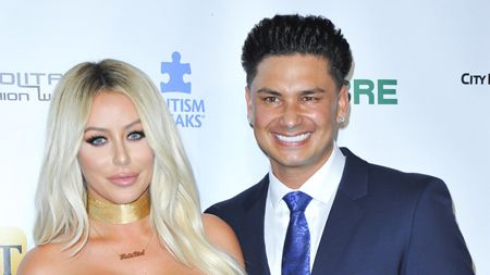 """Aubrey O'Day and Paul """"DJ Pauly D"""" DelVecchio were in a relationship."""