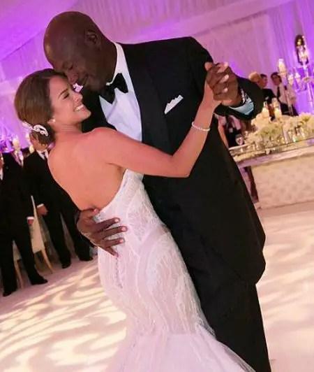 Michael Jordan and Yvette Prieto were married in 2013.