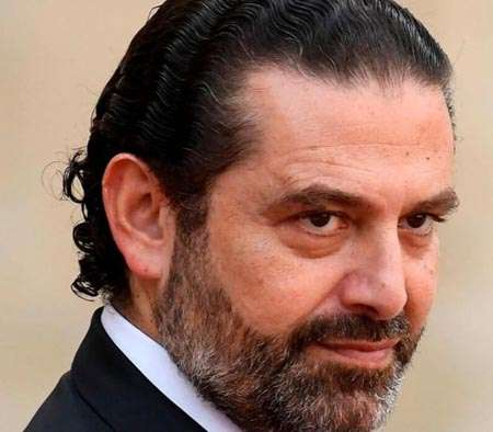 Saad Hariri in a profile picture.