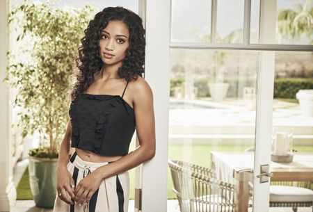 Samantha Logan as Olivia Baker in the show All American.