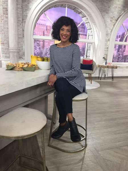 Leah Williams QVC Weight Loss was attributed to no sugar and no fried foods.