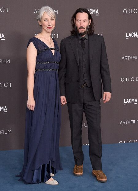 Keanu Reeves with his GF Alexandra Grant.