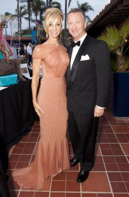 Toby MacFarlane with his wife Christy MacFarlane.