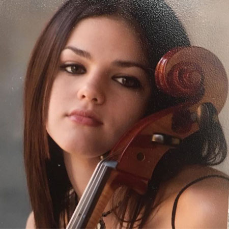 Callie Hernandez started to play the cello at the age of 13.