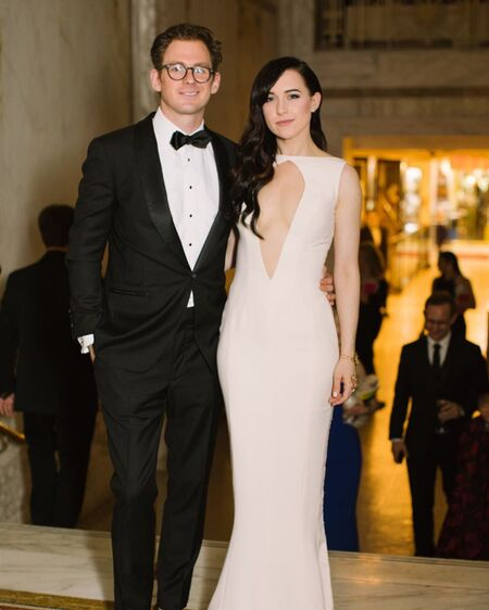 Lena Hall is married to her husband Jonathan Stein.