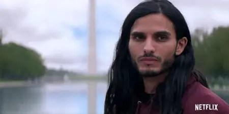 Mehdi Dehbi plays the character of Al-Masih in Messiah Netflix series.