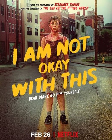Sophia Lillis plays Sydney in the Netflix series I Am Not Okay with This.