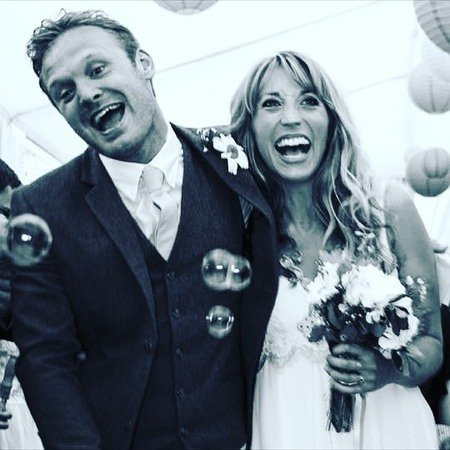 Daisy Haggard is married to her husband Joe Wilson for over six years.