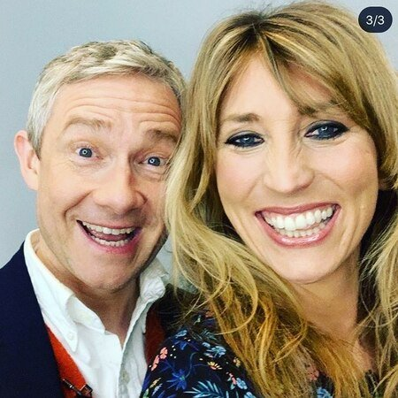 Daisy Haggard and Martin Freeman are portraying the husband and wife duo Ally Worsley and Paul Worsley, respectively, on FX's 'Breeders.'