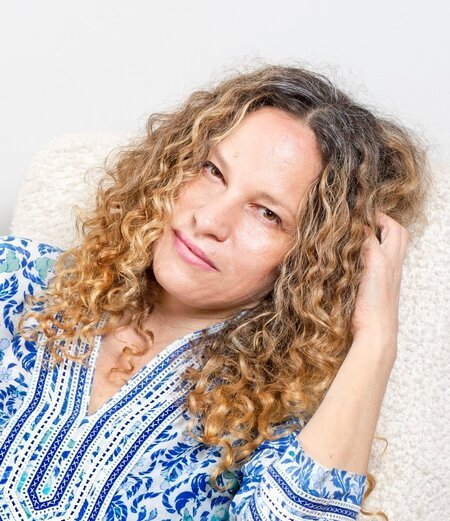 Katie Roiphe is married twice in her life.