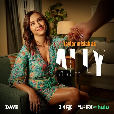 Taylor Misiak plays Lil Dicky's girlfriend named Ally on FX comedy 'Dave.'