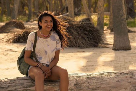 Madison Bailey plays Kiara in the Netflix series Outer Banks.
